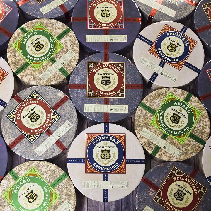 Sartori Cheese Wheels