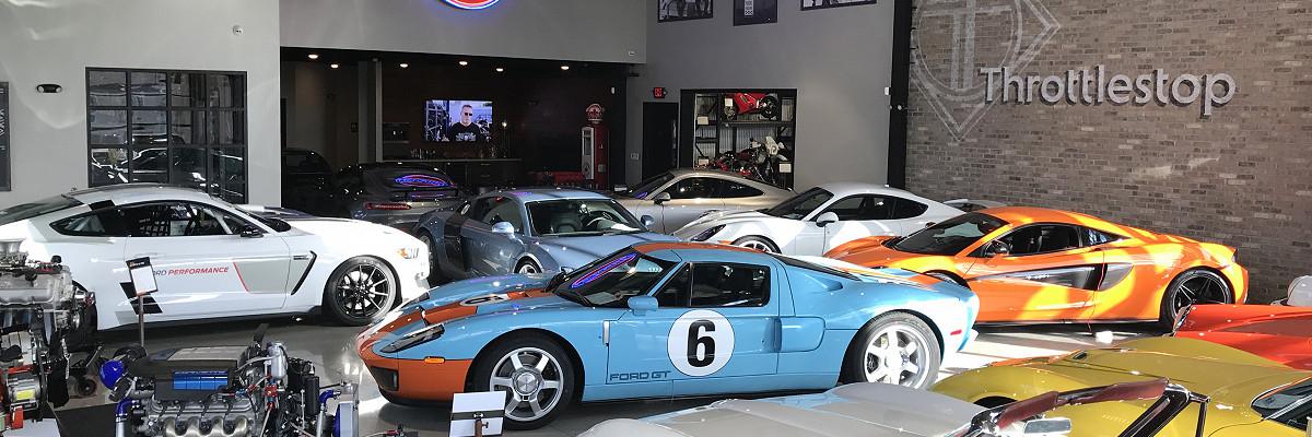 Throttlestop show room